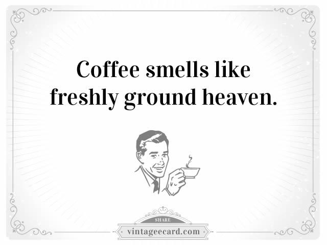 Coffee ecards